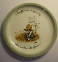 Vintage Holly Hobbie Collectible Porcelain Plate 1972 Collector's Edition