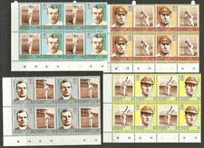 St Vincent & The Grenadines Sports Postal Stamp Blocks