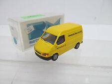 eso-13899Rietze 1:87 Transporter Ford Post sehr guter Zustand