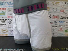TED BAKER Fitted Boxer Shorts White Moulded PAXTON Cotton Pouch Trunk Boxed
