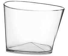 Vasque à champagne Delta transparente - Verrerie de la Marne