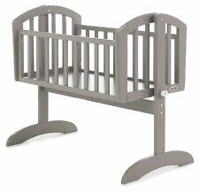 Obaby SOPHIE SWINGING CRIB Baby Child Nursery Furniture Taupe Grey BN
