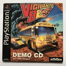 VIGILANTE 8 DEMO CD PS1 Sony PlayStation 1998 Activision RARE!!!