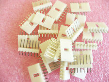 "20 PCS NON LOCKING PCB HEADER CONNECTOR, NOS 2.54MM(.1"") SPACING"