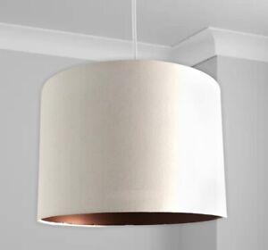 New HQ Stunning HQ Bronze Finish Unique White Classic Lamp Shade Pendant 30 Cm