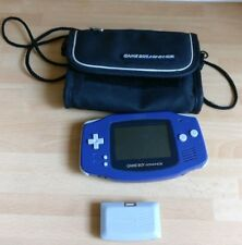 Nintendo Gameboy Advance With Carry Case And Gamestar Power Pack