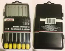 Tool Bench Hardware Hand Tool Screwdriver Set 6pc Jeweler Phillips Small Min KIT
