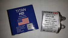 TITAN HD RUN CAPACITOR 7.5MFD 370VAC 7.5-370 CAP 12007 12907 MADE IN USA