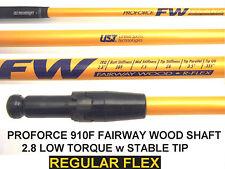 Titleist 910F UST 3/5 Wood REGULAR GRAPHITE FAIRWAY SHAFT 2.8 Low Torque+adapter