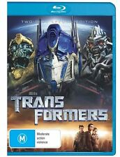 Transformers (Blu-ray, 2008, 2-Disc Set) Brand New Sealed Free Shipping
