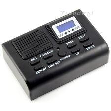 Mini Digital Telephone Phone Voice Recorder W/ LCD Display SD Card slot Hot SV