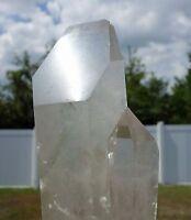 LEMURIAN SEED Quartz Crystal SHOVEL FACE Shovel HEAD Point with Chlorite Phantom