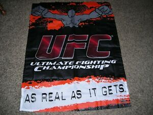 UFC FLAG ULTIMATE FIGHTING CHAMPIONSHIP SIZE 5X3 ft. BRAND NEW 150x75CM