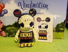 "Disney Vinylmation 3"" Park Set 1 Wdw 40th Anniversary Animal Kingdom w/ Card"