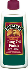 New FORMBY'S Minwax 8 oz Low Gloss Tung Oil For All Wood to Seal & Protect 30069