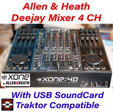⭐ ALLEN & HEATH XONE 4D Mixer DJ 4 Canali + scheda audio USB ⚡ NOT CDJ 2000 900