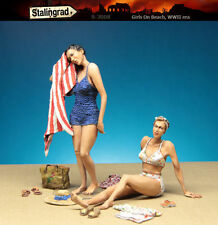 1/35 Scale Resin Figure kit 1940's Girls On Beach