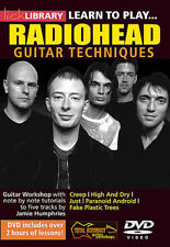 Lick Library LEARN TO PLAY RADIOHEAD Guitar Lessons Video DVD Jamie Humphries