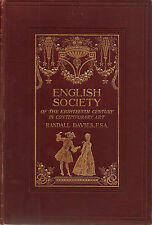 English Society of the 18th Century in Contemporary Art, Randall Davies (1907)
