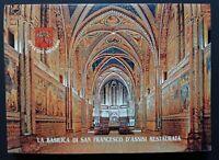 VATICANO 2000 Cartoline La Basilica di San Francesco restaurata