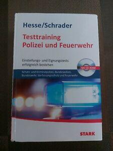 Hesse/Schrader - Testtraining Polizei und Feuerwehr- Einstellungstest bestehen