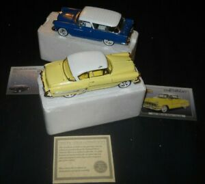 National Motor Museum Set-Silver Age of Chevy,'54 Chevy Bel Air & '55Chevy Nomad