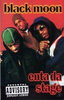 Blackmoon Enta Da Stage 1993 Cassette Tape Album Hiphop Rap Black Moon Enter