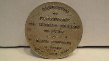 1898 Bendicion Sacred Heart Jesus Argentina Silver Medal By Orzali B. Y.C