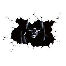 Happy Halloween Silent Skull Sticker Window Home Decoration Decal Decor