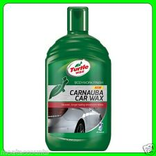 Turtle Wax Carnauba líquido Auto Cera 500ml [ fg7618 ]