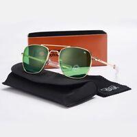 Aviation Sunglasses Men Sun Glasses For Male American Army Military Optical