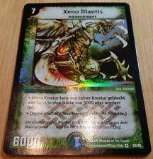 Xeno Mantis 55/55 - Duel Masters DM02 - Very Rare HOLO - Deutsch - Mint