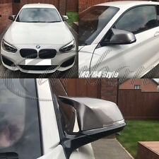 BMW M3/M4 Style Mirror Covers Painted In BMW B55 Ferric Grey, 1,2,3,4 F - Series