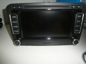 VW Rns 510 3C0035684G Us-Specific Navigatore GPS Come Nuovo Condition