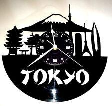 OROLOGIO DA PARETE Muro in Vinile Città Capitale Arte Cultura Giappone - TOKYO
