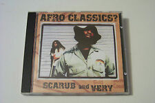 SCARUB & VERY - AFRO CLASSICS? CD 2002 (The Grouch Eligh Murs Laid Law)
