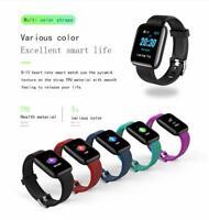 Watch Bracelet IP67 Waterproof Fitness Tracker Heart Rate Blood Pressure Monitor