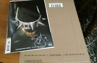 DF The Batman who laughs # 60/120 signed in silver by Scott Snyder