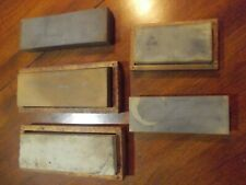 Lot Of 5 Vintage Sharpening Stones