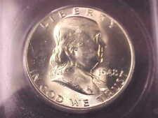 1948 PHILADELPHIA FRANKLIN HALF DOLLAR, MS65, FULL BELL LINES, ICG CERTIFIED