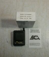 New Sca Alps Low Band 45-50 Mhz Vhf 2ch Tone / Voice Pager Vibrate Sp-Av03
