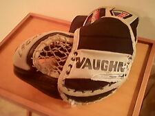 Vaughn Legacy black & gray Junior ice hockey goalie glove, T 770, left hand