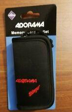 NEW Adorama Slinger Digital Memory Card Wallet - Holds 12 Cards #SLMW10