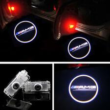 2x Benz LED Light Door Projector AMG Logo Kit For Mercedes CLA200/250 2013-2016