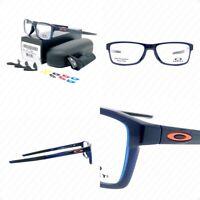 Authentic Oakley Chamfer MNP OX8089-0456 Polished Blue Ice w/Demo Eyeglasses