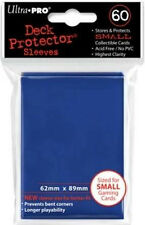 Ultra Pro Sleeves 60 D10 Card Game Small Blue