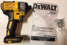 """NEW DEWALT DCF887 20V 20 Volt Max XR Li-Ion 3 Speed 1/4"""" Impact Drill Driver"""