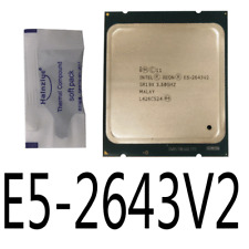 Intel Xeon E5-2643 V2 E5-2643V2 3.5GHz 6Core LGA2011 CPU Processor