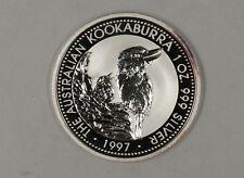 1997 $1 Australia Kookaburra 1oz .999 Silver Coin