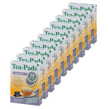 10 x Teepads Earl Grey, Schwarzer Tee (geeignet für Senseo) 200 Pads! Tee